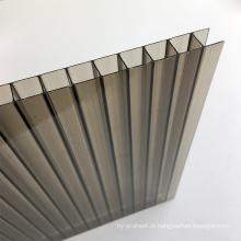 Folha de PC ocos de policarbonato de estufa de 8mm por 10 anos de garantia com certificação para ISO, CE, UL, SGS