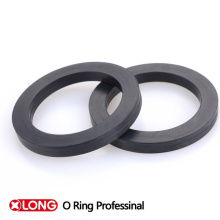 Black Viton Flat Gasket in Hydraulic Industry