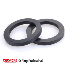 Black/Brown Rubber Flat Gasket in Metric Size