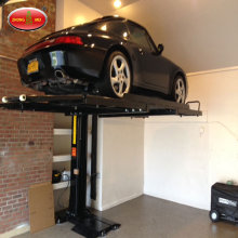 Hydraulic Single Post Underground Garage Car Lift