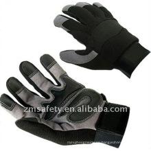 Guantes deportivos antideslizantes de seguridad de cuero sintético Gripper ZM895-H