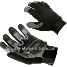 Gripper synthetic leather safety anti-shock mechanic sport gloves ZM895-H