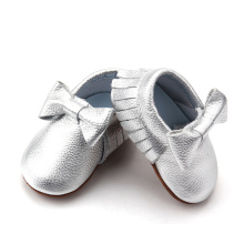 Cute Fashion Skidproof Bow Baby Girl Mokasyny