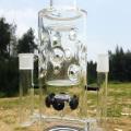 Электромагнитная конструкция формы башни Стеклянные курительные трубки для воды (ES-GD-282)