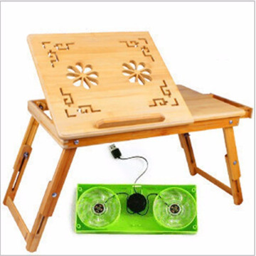 escritorio plegable de la computadora de la tabla de la cama plegable al por mayor