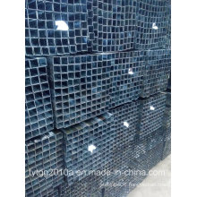 Pure Black Hollow Section Square Pipes