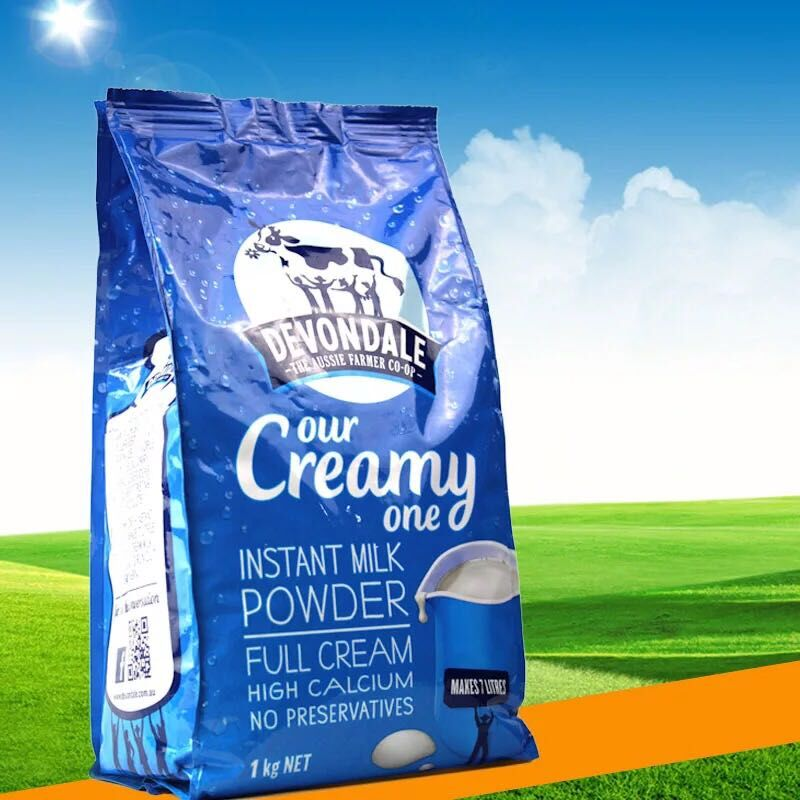 Quad Seal Bag For Milk Powder Packaging