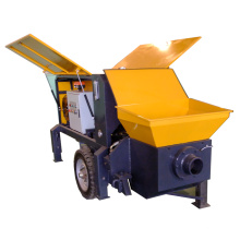 Portable Hydraulic Concrete conveying transport pump