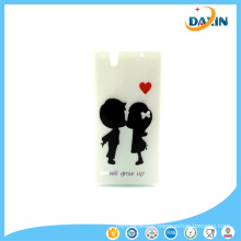 Patterns Cute Silicon Back Skin Cover Case for Sony Mobile Phone