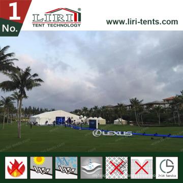 40X100m большой шатер выставки для выставки и ярмарки