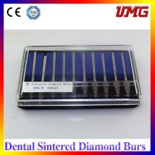 Sharp Dental Diamond Burs Schwarze, Dental Burnisher