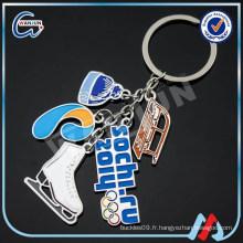 Porte-clés en gros en métal personnalisé (keychain -3)