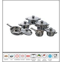 12 PCS Stainless Steel Camping Cook Set