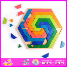 2014 New Children and Popular High Quality Baby Hot Sale Wooden Kids Puzzle Toys W13A031