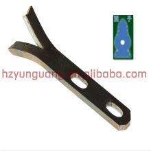 Grampos de suporte em forma de Y / encaixe de linha de energia elétrica / braçadeira de cabo suportes de aço inoxidável hardware de canto ao ar livre indoor