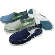 Best Sale Fashion Men′s Shoes Slip-on Canvas Shoes Leisure Shoes