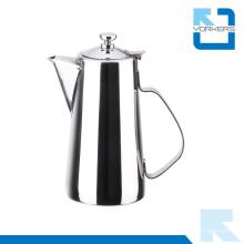 Pot d'eau inox à bouteilles courtes et bouilloire à thé