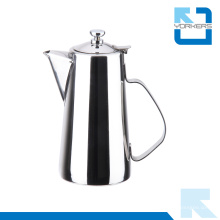 Bico curto pote de água de aço inoxidável e chaleira de chá