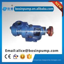 Pump for transferring resin