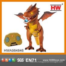 Новый дизайн Инфракрасный пульт дистанционного управления игрушки динозавров с легкой и звуковой и автоматической демонстрации