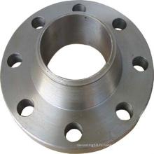 Compagnie de précision forgée de bride d'acier de précision avec la finition de usinage