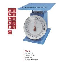 Escala mecánica de la cocina Escala del dial del metal