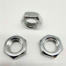 Stainless Steel Polished Plain Flange Nut Lock Nut