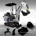 Hot Sale Newly Designed Digging Machine Multi-Function Small Mini 0.8 Ton Hydraulic Crawler Excavator