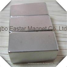 Maßgeschneiderte hochwertige Neodym-Magneten mit Nickelplattierung