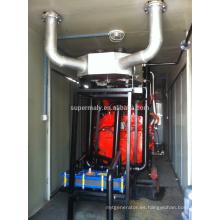 Generador de gas natural de marca de fábrica de los EEUU 200kva con CHP