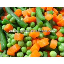 Vegetais misturados congelados