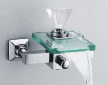 バスタブ ガラス滝シャワー蛇口 S-007 c