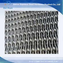 Pig Steel Crimped Wire Screen Mesh with Rectangular Hole