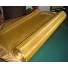 Malla de alambre tejida de latón (tejido liso)