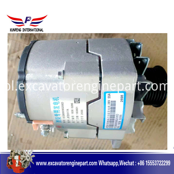 Weichai Marine Engine Parts Alternator 612602090026D