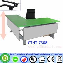 moderner Büro-Konferenztisch manuelle Kurbel höhenverstellbarer Konferenztisch