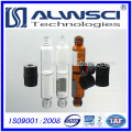 Free samples 2ml glass vial with silica gel for column chromatography