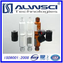 2 ml 8-425 HPLC Vial cromatografía Vial transparente 12 * 32 mm Insertar el vial