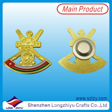Oman Military Gold Plated Enamel Lapel Pin with Magnet (LZY-10000281)