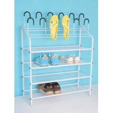 4 Layer Shoe Rack With Powder Coated