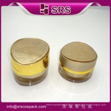 Chine Emballage cosmétique vide Acrylique 30ml 50ml Gâteau cosmétiques doux