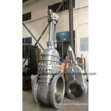 API6d 150lb 300lb 600lb Затворная задвижка с литой стальной шестерней