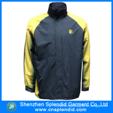 Shenzhen Garment Factory Mens Oxford Cloth Fleece Jackets