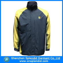 Revestimentos do velo de pano de Oxford dos homens da fábrica do vestuário de Shenzhen