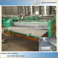 Auto barril de aluminio de cartón corrugado de techos que forma la máquina