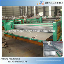 Auto Aluminium Barrel Carton ondulé Panneau Rolling Machine