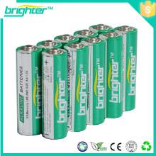 1.5v aa batería alcalina lr6 batería seca para reproductor de mp3 al por mayor