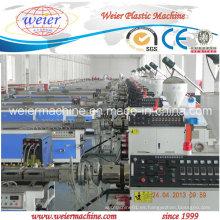 Línea de extrusión de paneles de techo de PVC de 250 mm con extrusora de doble tornillo