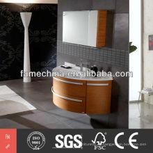2013 último diseño de la vanidad del cuarto de baño diseño de la vanidad del cuarto de baño del alto brillo FM-MD075
