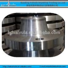 PN10 / 16 de aço forjado WN flange BS 4504 flange